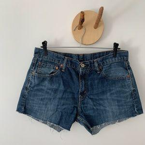 Levi's 527 Shorts Dark Blue